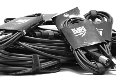 CABLES ET CORDONS - BLACK CABLE